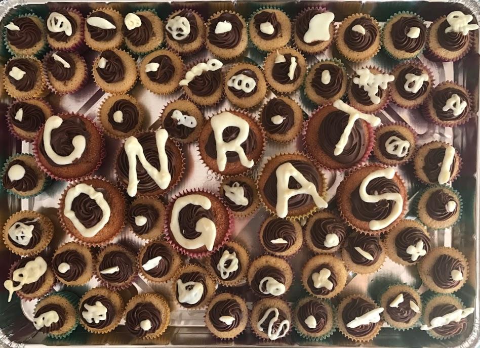 Baking: Mini Espresso Chiffon Cupcakes with Fudge Frosting ...
